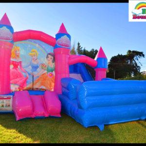 Rainbow Bouncy Castle - Bouncy Castle Rental For Celebration