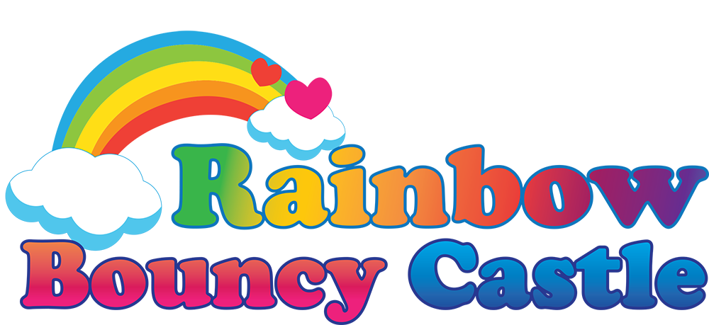 Rainbow Bouncy Castle